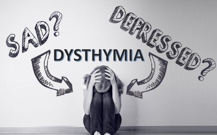 A girl is in Persistent Depressive Disorder